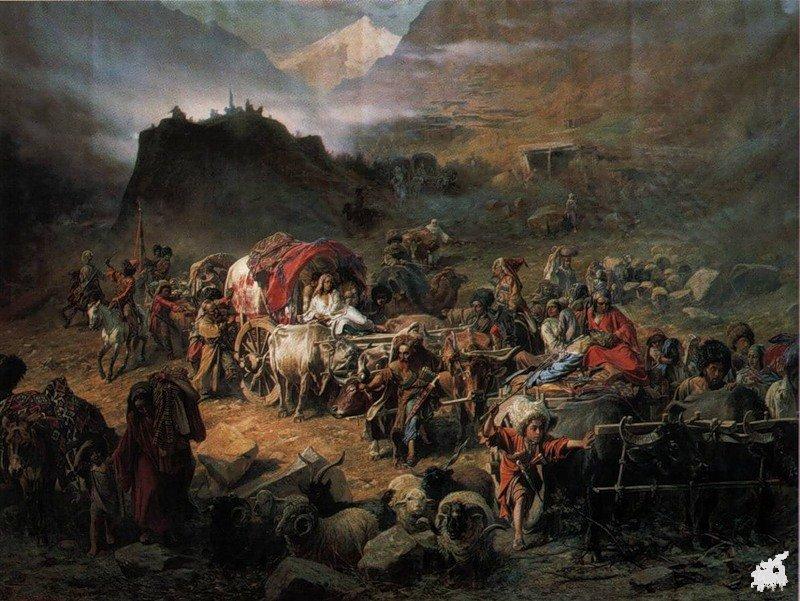 Истамбылак1уэ - Народная баллада, посвящённая геноциду и выселению черкесов