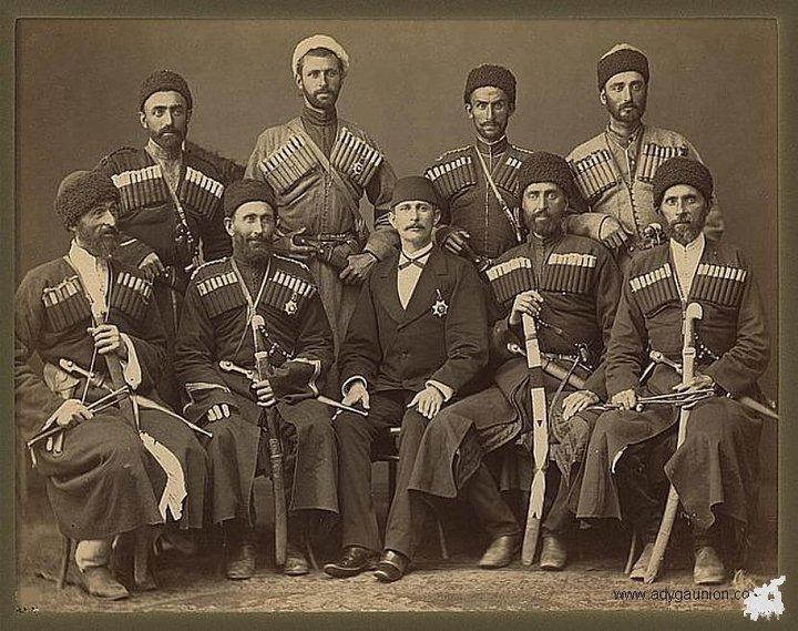 Адыги и апсуа в русско-кавказской войне
