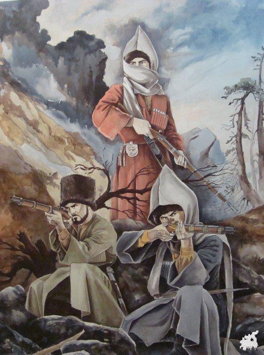Кавказская война [Э. Спенсер]