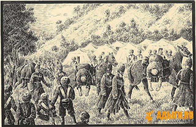 Приказ кн. Воронцова по Отдельному Кавказскому корпусу, от 20 декабря 1851 года, N 195.