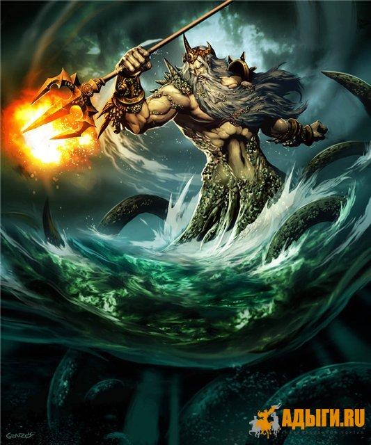 Кодеш (Кордеш) - в мифологии причерноморских адыгов (шапсугов) - божество моря.