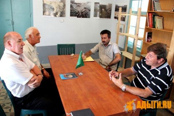 Россотрудничество в гостях у черкесов Израиля