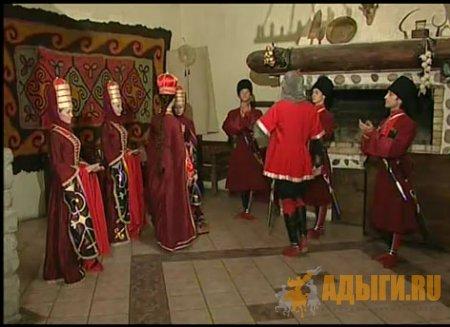 Circassian princes and princesses. ПЩЫ.ГУАЩЭ
