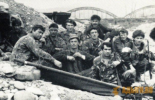 О действиях ударной разведывательной группы Кабарда под командованием Гены Карданова