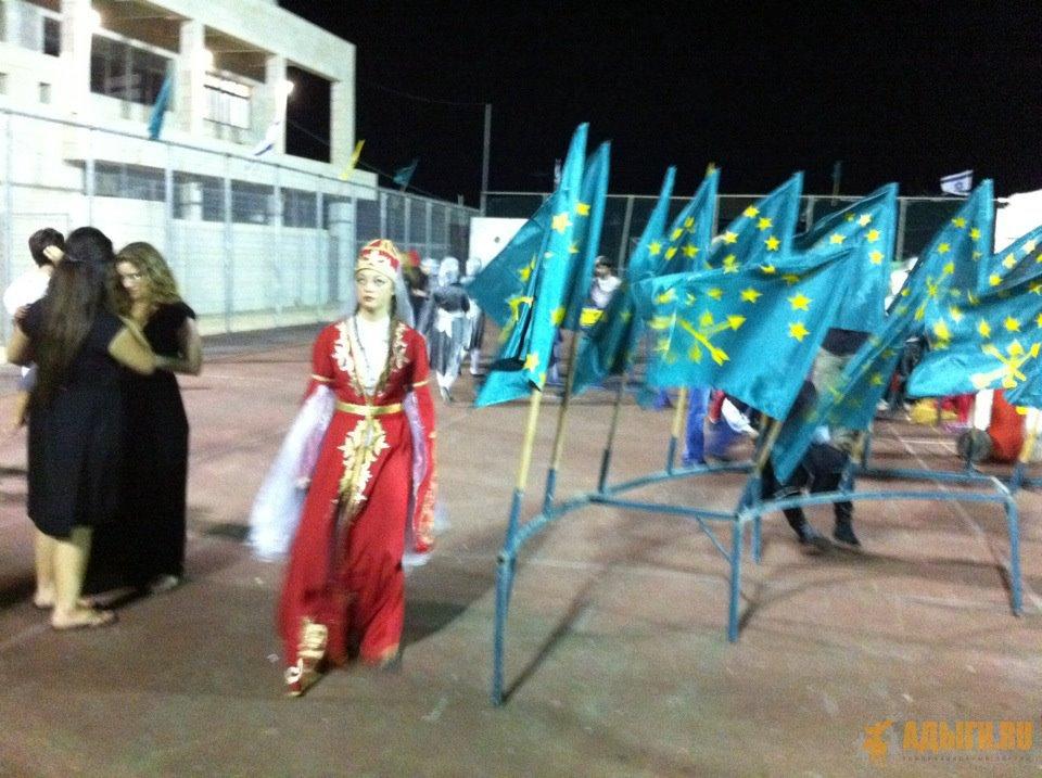 Черкесский фестиваль Кфар Кама - 2012