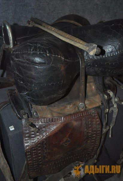 Настоящее черкесское седло (адыгэ уанэ) времен Русско-Кавказской войны, Национальный Музей Республики Адыгея