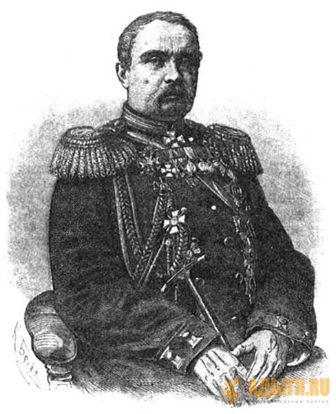 План генерала Евдокимова на Кавказе