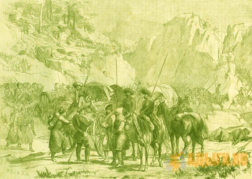 СОБЫТИЯ В УБЫХИИ В 1840-1841 гг.