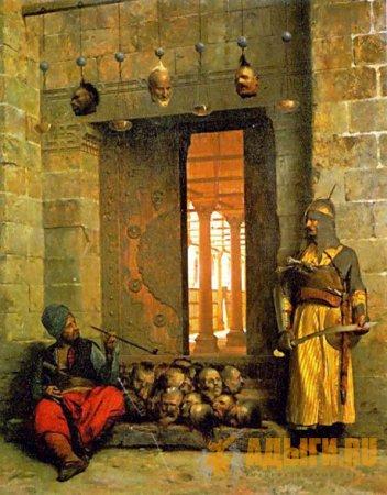 Черкесские султаны (мамлюки) - правители Египта