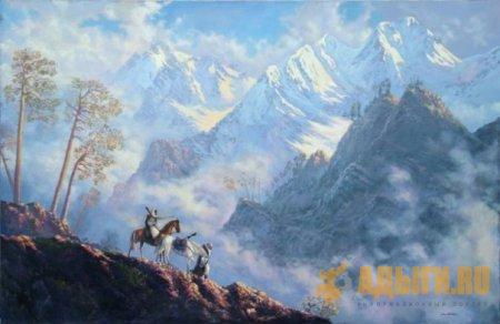 Д-р В. Щуровский : Семь недель по перевалам Западного Кавказа (лето 1905 г.)