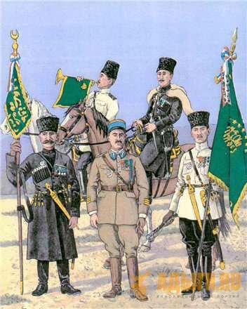 Сирийская армия. черкесы