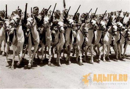 8 эскадронов черкесской гвардии