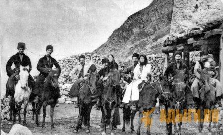 Участие убыхов в восстании в 1840 году