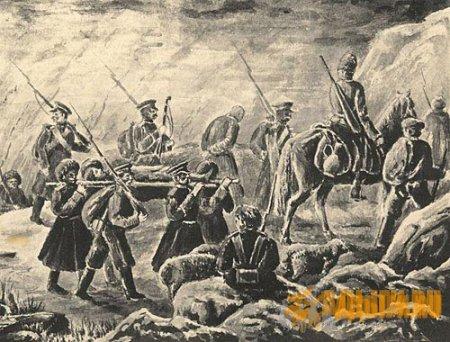 Продвижение Даховского отряда и уничтожение аулов