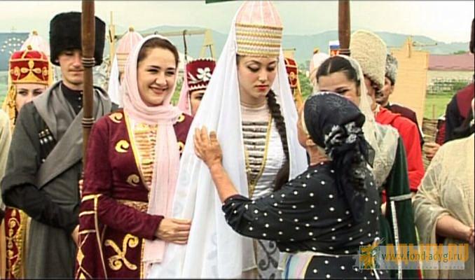 Черкесские обычаи свадеб