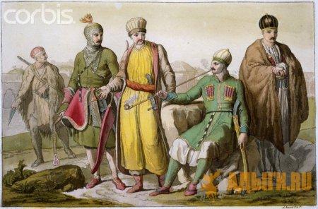 Производство черкесского табака в 17 веке