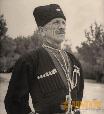 Черкесский страж. Амман, Иордания. 1948 г.
