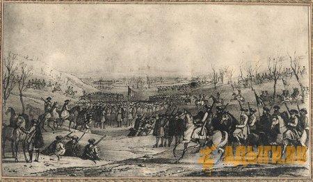 Круговой сбор черкесского войска