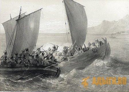 Традиции пиратства у черкесов с античных времен по новое время