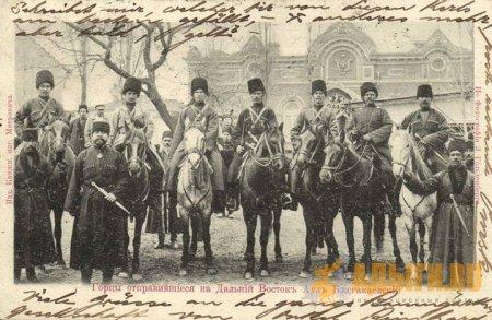 Черкесские воины из аула Бжегокай