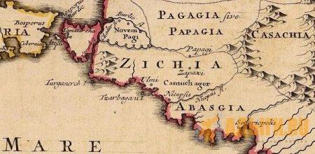 Народ Zich или (у Юлиана) Sich — черкесы