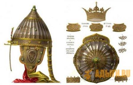 Аят из Корана на шлеме Александра Невского (вн.). А вы знали об этом?