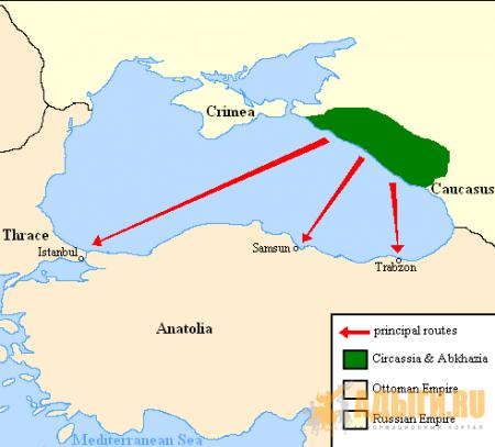 Черкесы в Турции