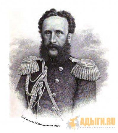 А.П. Берже, Выселение горцев с Кавказа:
