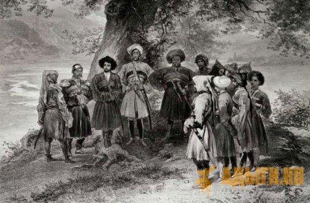 Т. Лапинский о черкесах