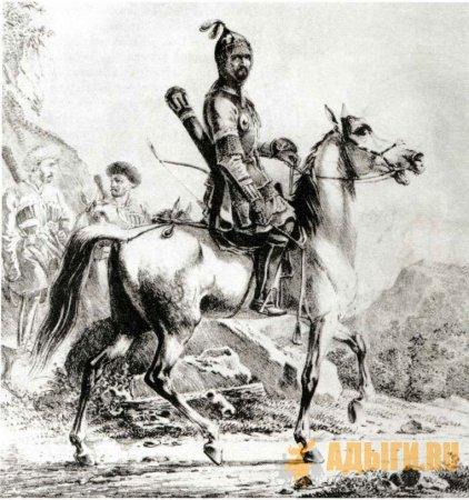 Крымские ханы и черкесские князья