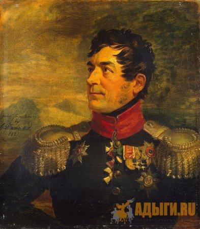 Субэтносы черкесов - натухайцы у крепости Анапы