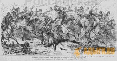 Наступлением войск Евдокимова на Абадзехию