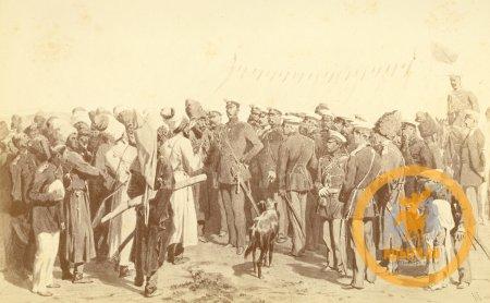 Встреча с российским императором состоялась 11 сентября 1861 г. на Тамани.