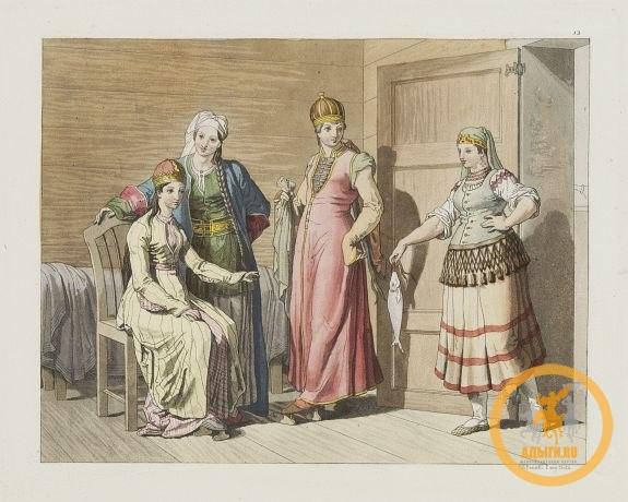 Гравюра 1812 года.