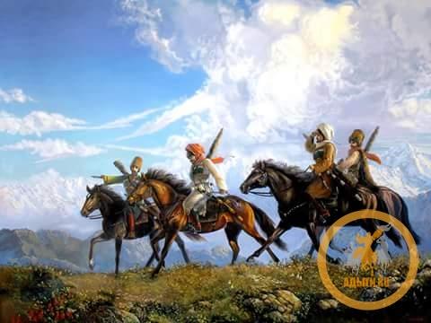 О черкесской лошади