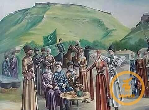 Адыги на этнотерриториальной карте Северного Кавказа
