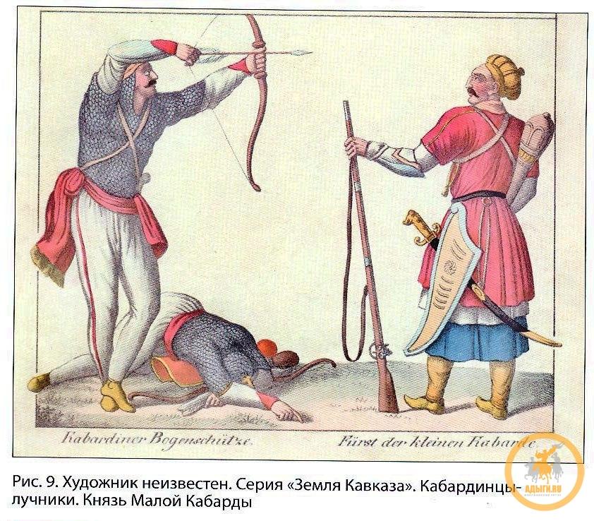 Краткий исторический очерк о кабардинцах