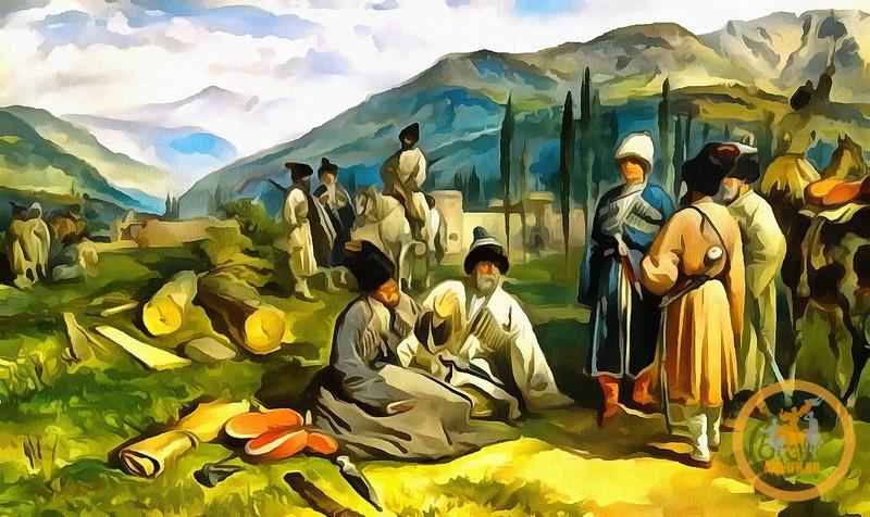 В ЗАКАВКАЗЬЕ И ЧЕРКЕСИИ (1939 г.)