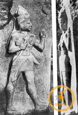 Богазкёй Фигура на царских воротах