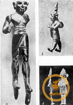 Бронзовая, золотая, свинцовая статуэтка