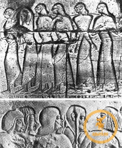 Хеттские пленники на египетских памятниках