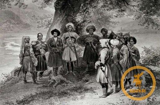 Священные рощи и деревья у черкесов