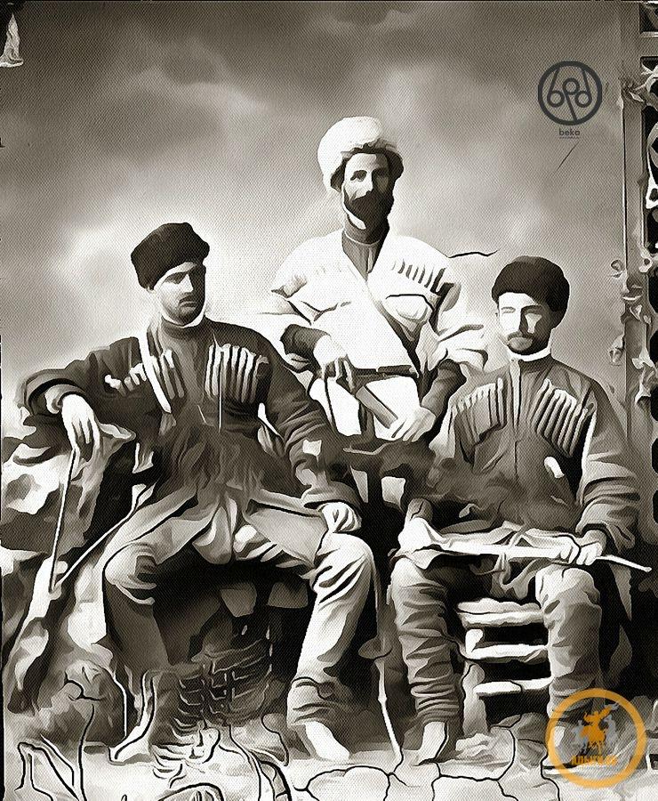 Русские офицеры о одежде и быте абадзехов