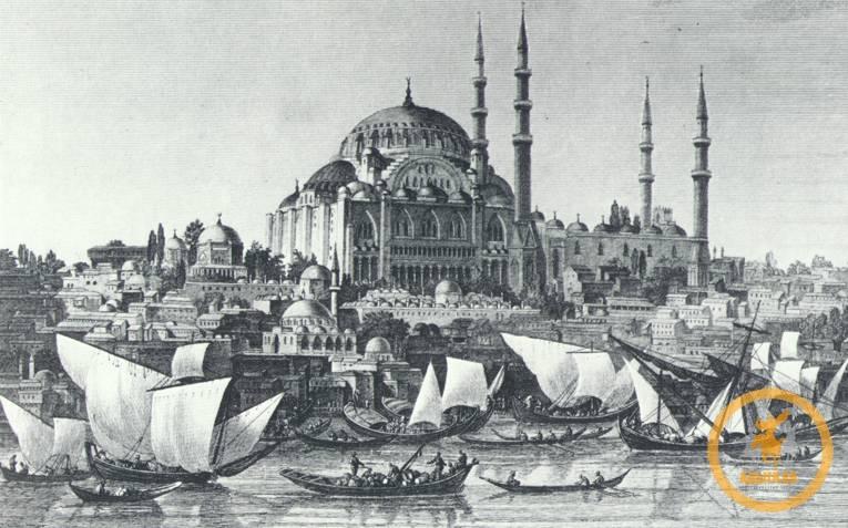 Прибытие в Стамбул представителей Кабарды и Бесленея во главе с Гёнанслы Мехмед-беем