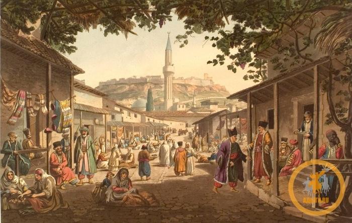 Северном Кавказе всегда был интересен Османской Порте (Турция), Крымскому ханству и России