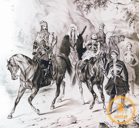 Конфликт между князем Аходягоко и простолюдинами был решен по Шариату