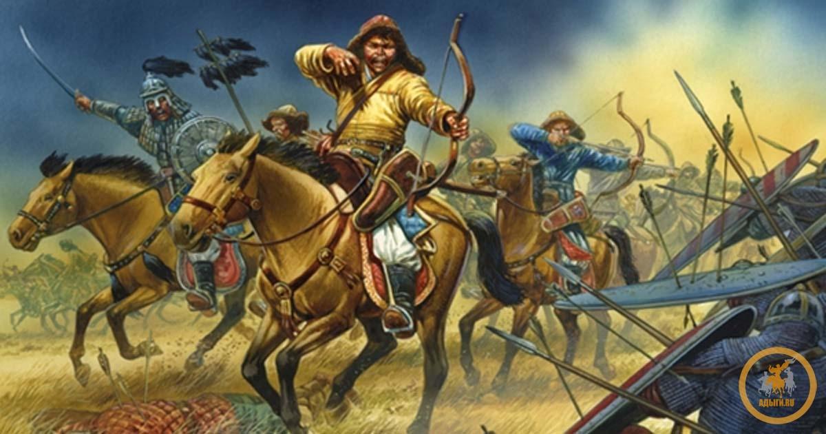Как аланы воевали с монголами
