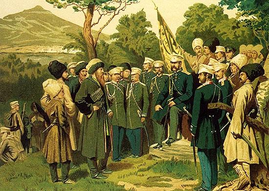 Первые шаги генерала Ермолова по покорению Кавказа