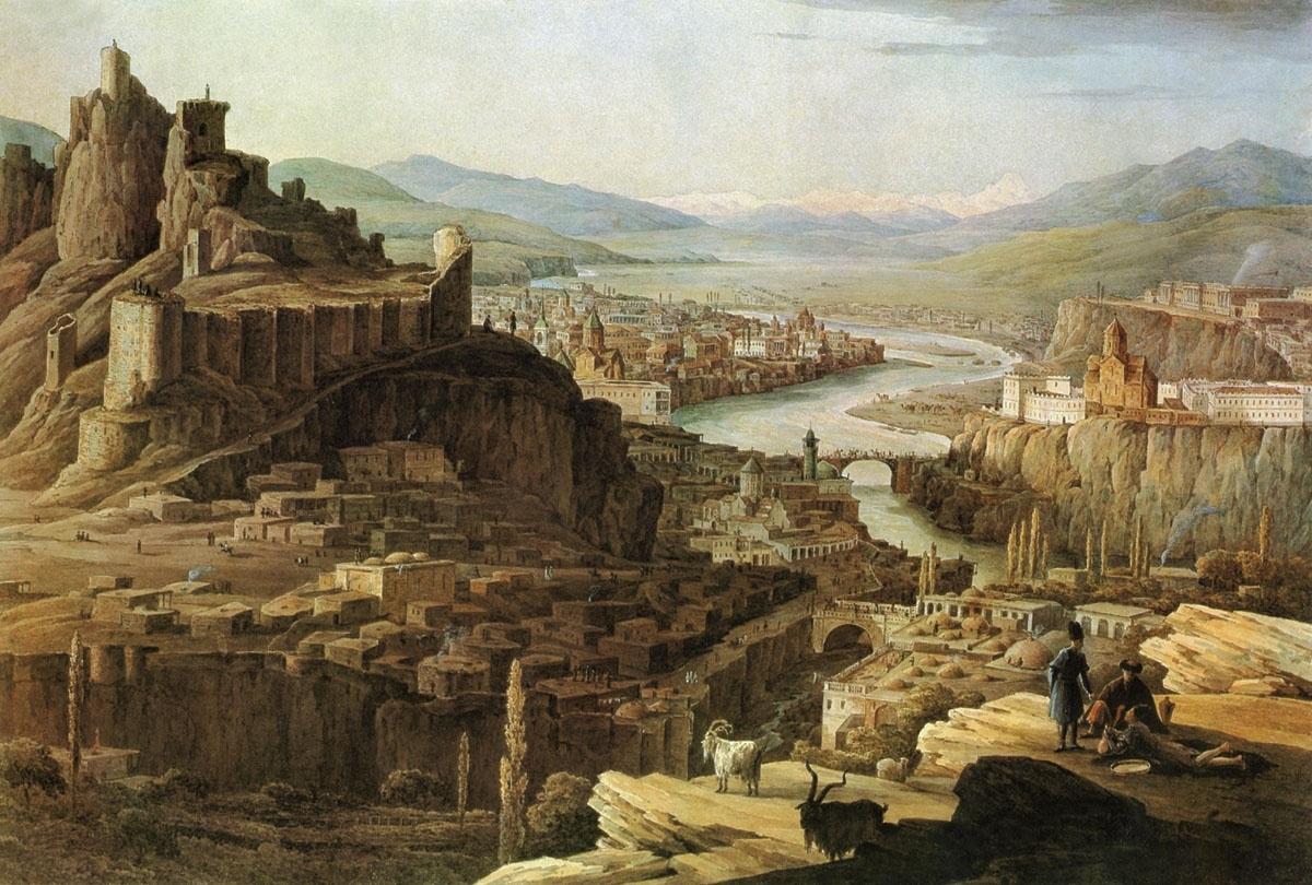 Первый монетный двор был построен в Тифлисе