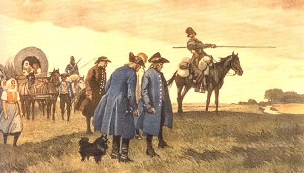 Для развития земледелия в Прикубанье были поселены 500 немецких колонистов